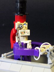 The Mad Hatter (monsterbrick) Tags: crazy lego teacup madhatter saucer moc greeble