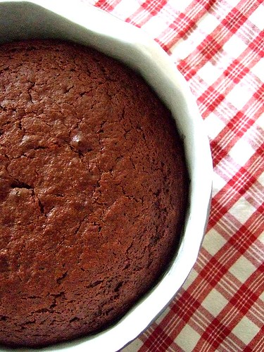 chocolate yogurt cake 1