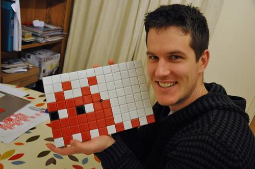Tiles all stuck!