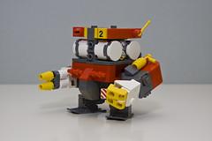 square fire robot lego engine cube mecha mech moc drone lego™ hardsuit gilgamech
