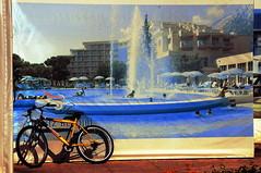 Trompe l'oeil #3 (stedef) Tags: turkey kemer trompeloeil bycicle bicicletta turchia