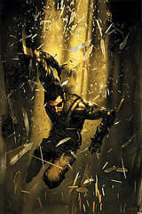 Deus Ex comic cover (#1)