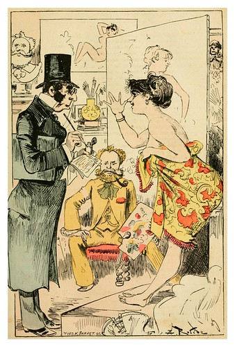 008-las conclusiones del agente judicial Lebarbu-La grande mascarade parisienne 1881-84-Albert Robida