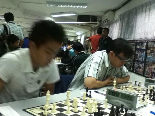 Round 7 begins by nc2011webmaster