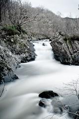 Cascade (GeoY5) Tags: longexposure river waterfall leny trossachs callander 10stop fallsofleny