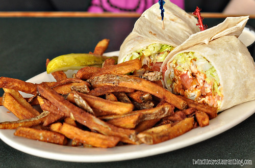 Buffalo Chicken Wrap at Billy's on Grand ~ St Paul, MN
