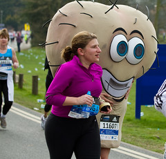 Reading Half Marathon 2011 (Toffee Raspberry) Tags: reading balls testicles berkshire 2011 readinghalfmarathon2011