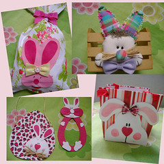 pscoa...est chegando! (Andreza Muniz) Tags: original cute art easter eva arte handmade craft pscoa feltro festa coelho tecido embalagem asasbelas