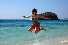 Tobago Cays - February, 2010 (RodaLarga) Tags: jumping grenadines tobagocays