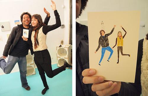 Retratos instantáneos de Miju Lee