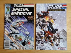 G.I. Joe comic books in Antarctica