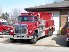 Elk 11-?? (railnut19) Tags: ford water truck fire michigan rig elk peck tender tanker township pirsch