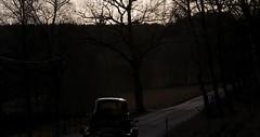 Riding into the sunset (bent inge) Tags: classic norway painting norge paint garage norwegen 1954 citron painter bil veteran norvege rogaland verksted restauration veteranbil restaurering citrontractionavant lakk lakkering grunning 11commerciale lakkarbeid
