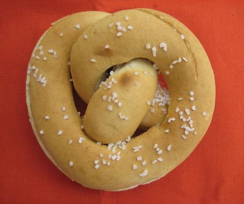 gluten-free soft pretzel