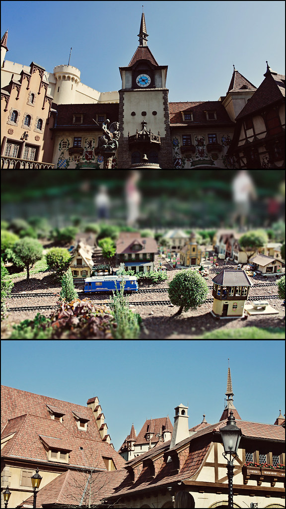 Epcot World Showcase Germany triptych