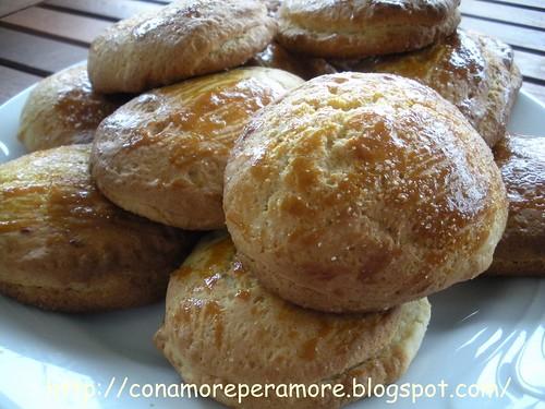 biscotti con rpieno di nutella