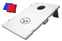 Pittsburgh Steelers TailGate Toss 2.0 Plastic Cornhole Boards