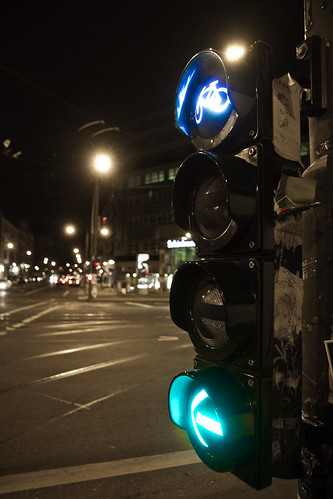 Berlin Bicycle Traffic Light