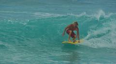 Surfer at Pipe (aaronHwarren) Tags: beach hawaii surf oahu pipe northshore pipeline banzaipipeline