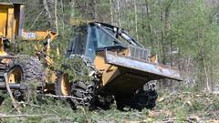 IMG_1497 (M.Bouzakine) Tags: forestry logging skidder fellerbuncher