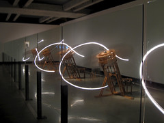 Loop System Quintet, Conrad Shawcross (russelljsmith) Tags: travel light vacation holiday reflection art museum underground reflecting mirror artwork gallery artgallery contemporaryart modernart mirrors machine australia mona off spinning tasmania hobart coming artmuseum subterranean 2011 berriedale moorilla conradshawcross nondakatsalidis 77285mm museumofoldandnewart moorillawinery loopsystemquintet