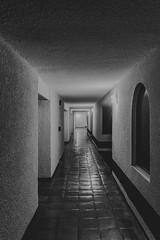 Los pasillos del hotel (31/365) (pedrobueno_cruz) Tags: black white hotel windows lines alone nikon d7200 365 challenge lights light night explored explorando ensenada baja california rosarito mxico new port beach
