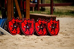 Tournament Joust, Week 2, Saturday (Pahz) Tags: thejousters joust jousting jouster knight horse squire armor lance shield encranche sword bristolrenaissancefaire2016 bristolrenaissancefaire pattysmithbrf brf renaissancefaire renfaire renfest