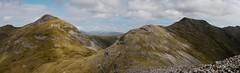 The Glencoaghan horseshoe: the cols between Benbaun, Benbreen and Bencollaghduff (Mumbles Head) Tags: ireland eire connemara mayo glencoaghan gleannchochan mountains horseshoe thetwelvebens twelvepins