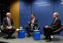 The Euro and the Battle of Ideas (ZEW Mannheim) Tags: brunnermeier zewpräsident wambach zew president heinemann eurokrise euro crisis