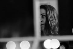 Higher (slivinska) Tags: lights emotive portrait reflection wierdo cross eye woman blackandwhite monochrome bokeh helios noise alinasliwinska amarillis