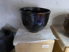 Lovely lustre (seikinsou) Tags: japan nikko august yaki potter pottery vessel shop  tea bowl display