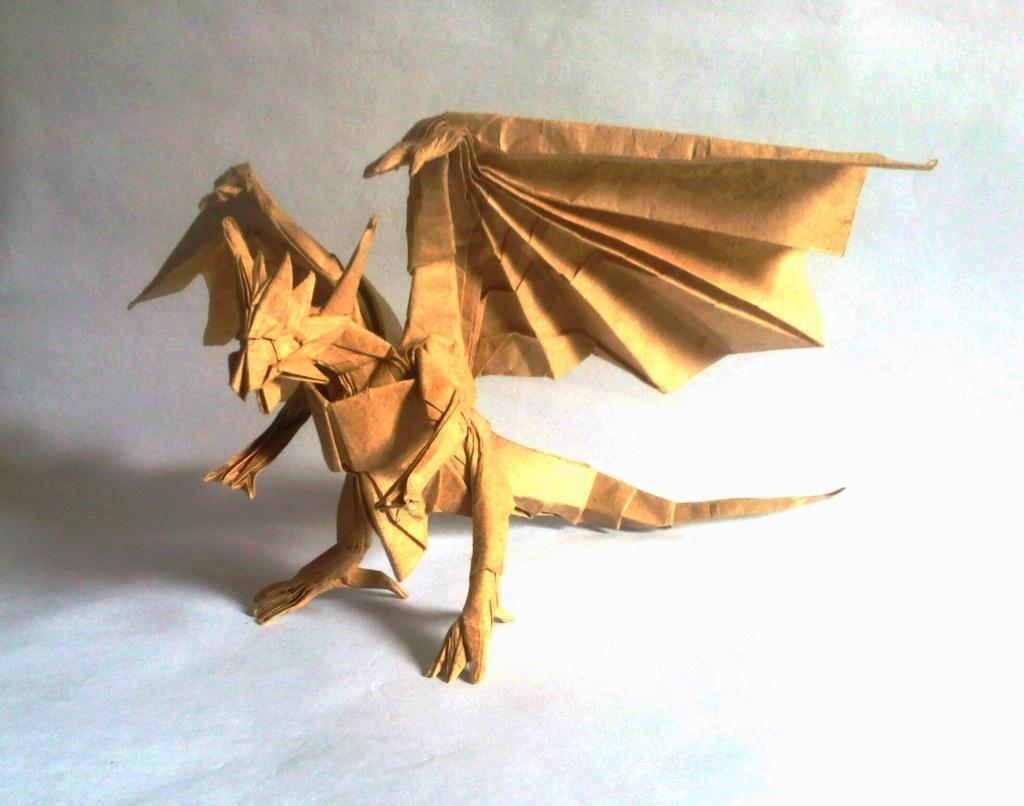 Dragon De Origami. Affordable Recuerden Que Practicando Es ... - photo#22