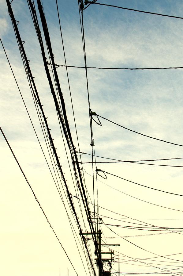 電線|京都十条
