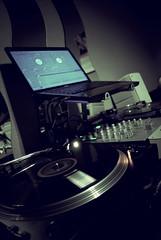 & (Last Shot Photos) Tags: club mix dj ray vinyl turntable setup scratch serato