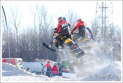DSC_1651 Snocross 2011 au Xtown Mirabel (Photo Tiger) Tags: winter snow canada sport toy nikon hiver course qubec neige jouet snowmobile skidoo motoneige snocross stantoine mirabel 2011 d40 tamron70200mmiff28