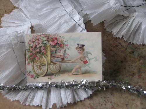 Vintage Valentine #3 - Valentine Plaque Card 008