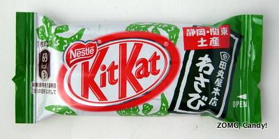 Japanese Kit Kat – Wasabi
