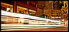 Copper Square (A Richie) Tags: arizona phoenix night dark downtown az lighttrails lightrail traffictrails coppersquare saturatedcolors phoenixlightrail