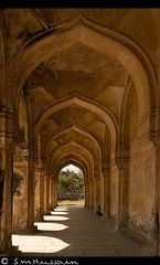 Of Arches & Light... (Masood Hussain) Tags: arches hyderabad tombs thequtubshahitombs