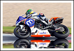 Racing (Fazer44) Tags: reflection canon racing motorbike silverstone motorcycle superbike eos50d
