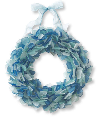 seaglass wreath