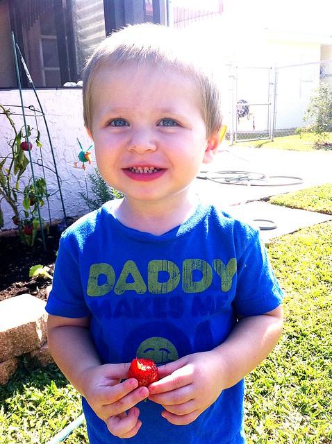 Strawberry love!