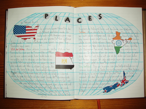 February Journaling Challenge, Day 04: Places.
