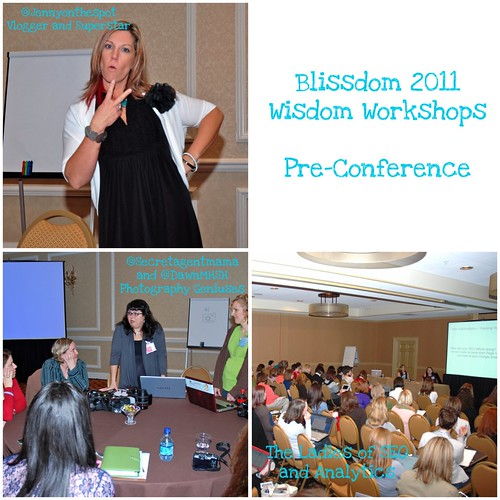 Blissdom Wisdom workshops