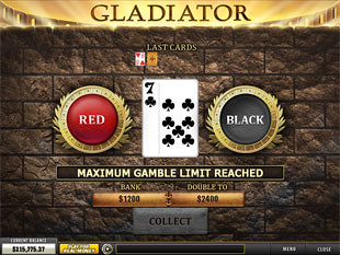 free Gladiator slot gamble feature