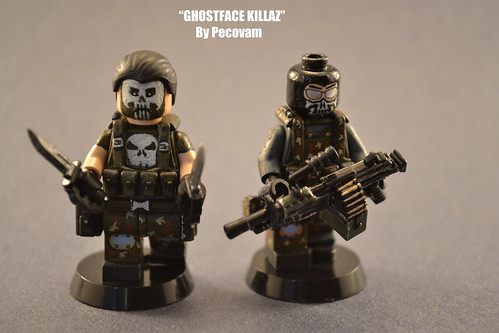 Custom minifig Ghostface Killaz custom minifigs