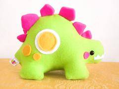 Tarvis the Stegosaurus