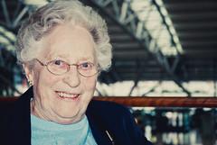 Laugh (Sebastian-Ziegler) Tags: old grandma nikon alt human oma mensch d80