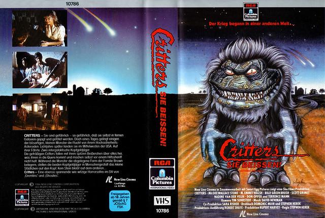 Critters (VHS Box Art)