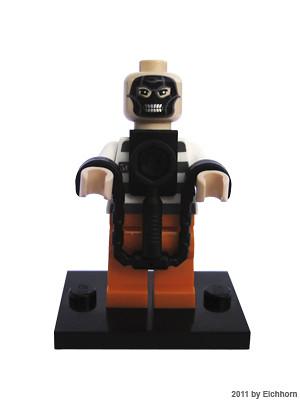 Custom minifig Hannibal Lector purist lego custom minifigure